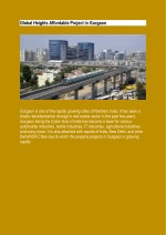 Global Heights Affordable Project in Gurgaon