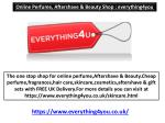 Online Perfume, Aftershave & Beauty Shop : everything4you