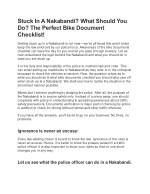 Stuck In A Nakabandi? What Should You Do? The Perfect Bike Document Checklist!