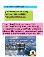 QuickBooks Hosting Providers in the Cloud Hosting Services|QuickBooks Cloud Hosting Services |QuickBooks 18002159291