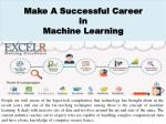 Make A Successful Career in Machine Learning
