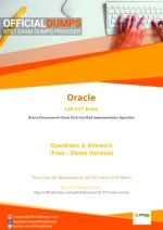 1Z0-327 Exam Dumps - Try These Actual Oracle 1Z0-327 Exam Questions 2018 | PDF