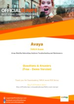 7691X Exam Questions - Are you Ready to Take Actual Avaya 7691X Exam?