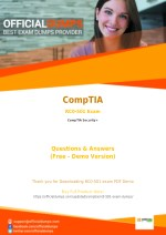 RC0-501 Exam Dumps - Try These Actual CompTIA RC0-501 Exam Questions 2018 | PDF