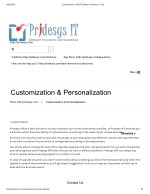Customization of ERP Software | Pridesys IT Ltd