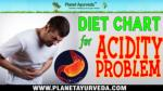 Diet Chart for Acidity Problem - Foods To Avoid & Recommend