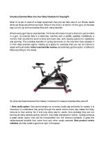 Introduce Exercise Bikes into Your Daily Schedule for Staying Fit