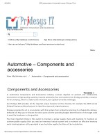 ERP Implementation in Automobile Industry | Pridesys IT Ltd
