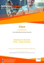 210-250 PDF - Test Your Knowledge With Actual Cisco 210-250 Exam Questions - OfficialDumps
