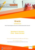 1Z0-966 Exam Dumps - Try These Actual Oracle 1Z0-966 Exam Questions 2018 | PDF