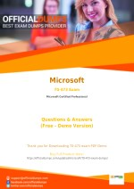 70-473 Exam Dumps - Try These Actual Microsoft 70-473 Exam Questions 2018 | PDF