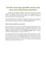 Get the same day apostille service and serve your documents anywhere