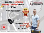 4 Benefits of Installing Security Cameras