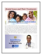 Dental Issues and Their Treatments