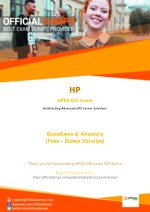 HPE0-S22 Exam Dumps - Reduce Your Chances of Failure | HP HPE0-S22 Exam Questions PDF