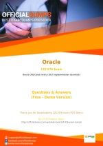 1Z0-976 PDF - Test Your Knowledge With Actual Oracle 1Z0-976 Exam Questions - OfficialDumps