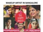 Movie Makeup Artist in Bangalore : Call Today  91 9886796449