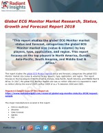 Global ecg monitor market research, status, growth and forecast report 2018