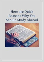 Here are Quick Reasons Why You Should Study Abroad