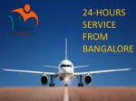 Get 24 Hours Air Ambulance Service in Bangalore by Vedanta