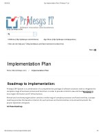 Erp Implementation Plan | Pridesys IT Ltd