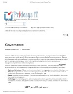 ERP Project Governance Model | Pridesys IT Ltd