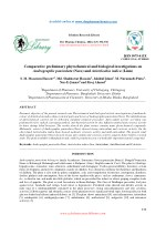 Comparative preliminary phytochemical and biological investigations on Andrographis paniculata (Nees) and Aristolochia i