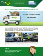 Safe & Environment-Friendly Rubbish Removal in Perth