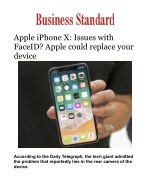 Apple iPhone X: Issues with FaceID? Apple could replace your device