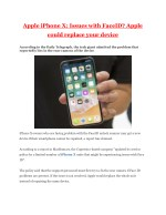 Apple iPhone X: Issues with FaceID? Apple could replace your device | Business Standard News