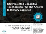 S12 Projected Capacitive Touchscreen PC: The Answer to Military Logistics
