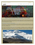 Aasra Eco Treks offers you some of the best Trekking holiday in Nepal