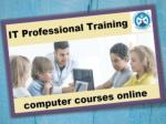 How to Join Computer Courses Online?