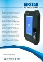Aadhar Enabled Biometric Device and Attendance Management