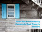 Key Aspects to Consider before choosing the Commercial Real Estate in Ashmore