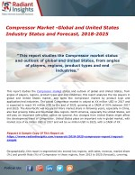 Compressor Market -Global and United States Industry Status and Forecast, 2018-2025