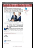 Why hire a professional web design company for creating a website
