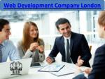 web development company london