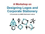 Designing Logos and Corporate Stationary