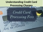 Understanding Credit Card Processing Charges