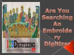 Digitizing Embroidery - Get 50% off on Your First Order
