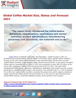 Global Coffee Market Size, Status and Forecast 2021