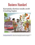 Karnataka election results 2018: Counting begins; top 10 developments