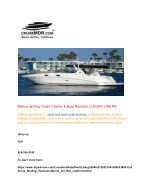 Marina del Rey Yacht Charter & Boat Rentals | LUXURY LINERS