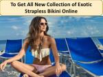 Check out New Women's One Piece Swimsuits at Best Price.