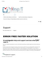 Erp Support Services | Pridesys IT Ltd