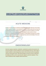 Speciality Certificate Exam SCE Infectious Diseases