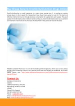 Buy Cheap Generic Erectile Dysfunction Drugs Online