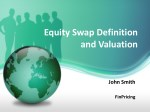 A Guide to Pricing Equity Swap