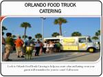 Food Truck Catering Services Orlando